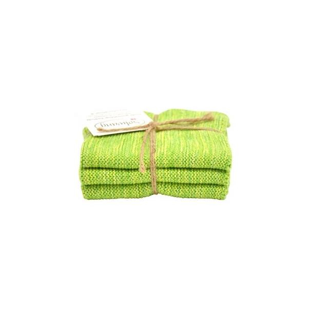 Solwang karklude 3 stk. -  Grøn mix