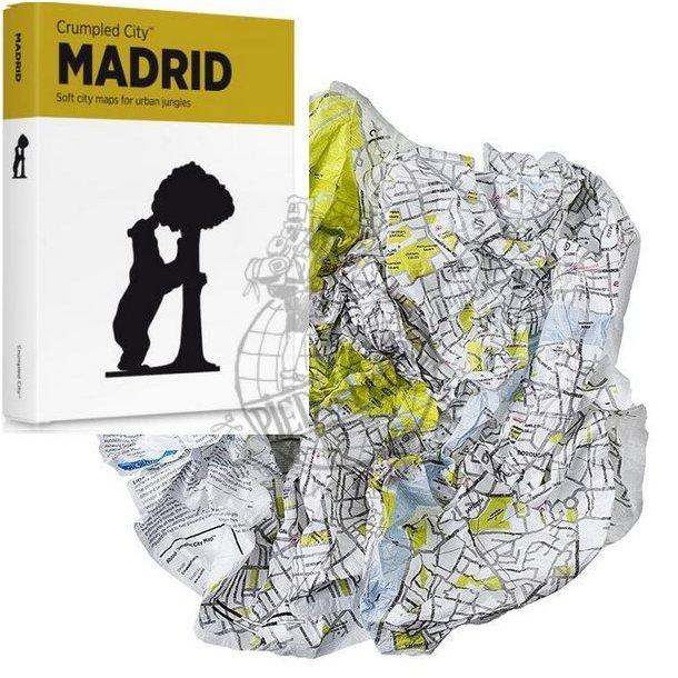 Crumbled City maps - Madrid