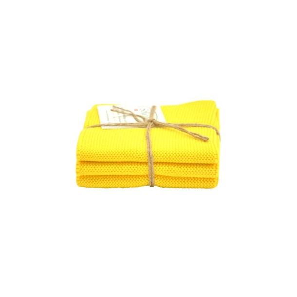 Solwang karklude 3 stk. - klar gul