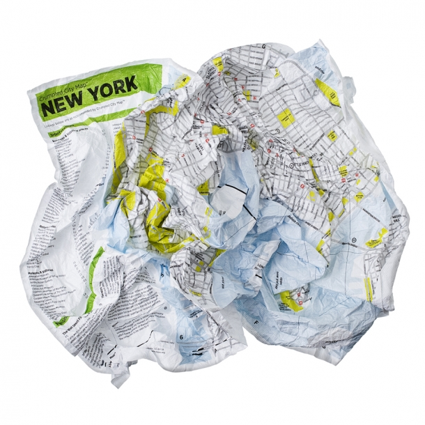 Crumbled City maps - New York