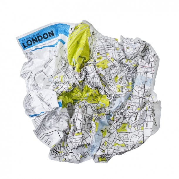 Crumbled City maps - London