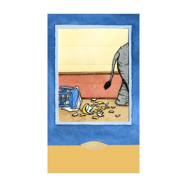 Levende postkort, Elefant