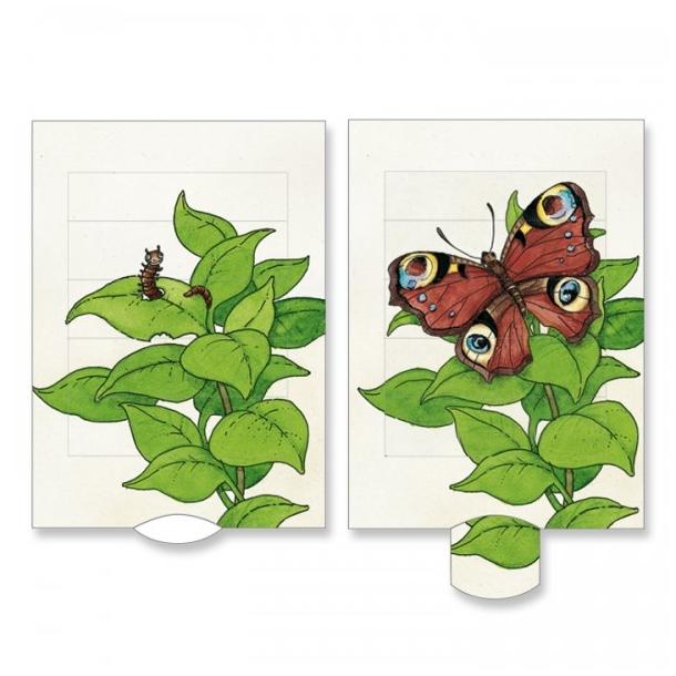 Levende postkort - Sommerfugl