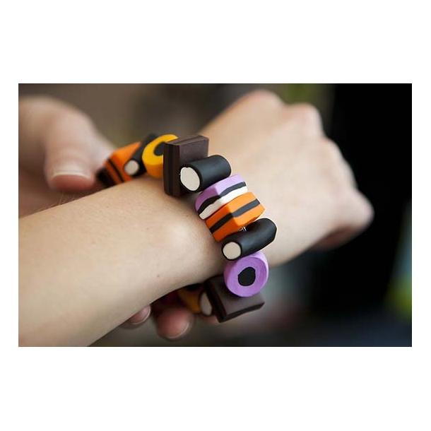 Lakridskonfekt armbånd, store stykker