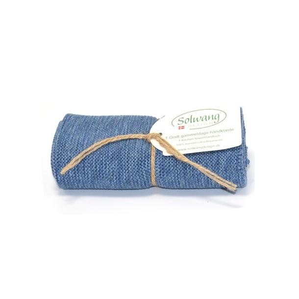 Solwang håndklæde - Denim mix