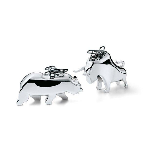 Wall Street - Bull & Bear til klips