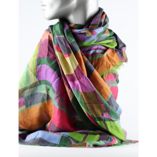 Tørklæde - 100% silke -Aperitif
