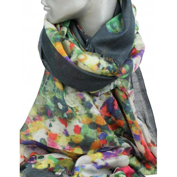 Tørklæde i 100% uld (33134)