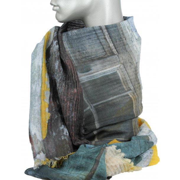 Tørklæde - 100% uld - Window - 33136