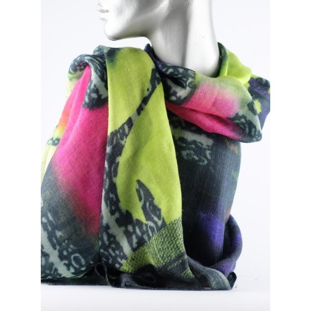 Tørklæde - Uld/silke, Corbana
