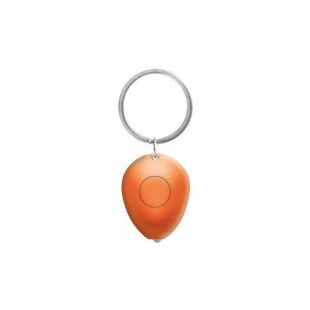 Nøglering Tiny med lys - orange