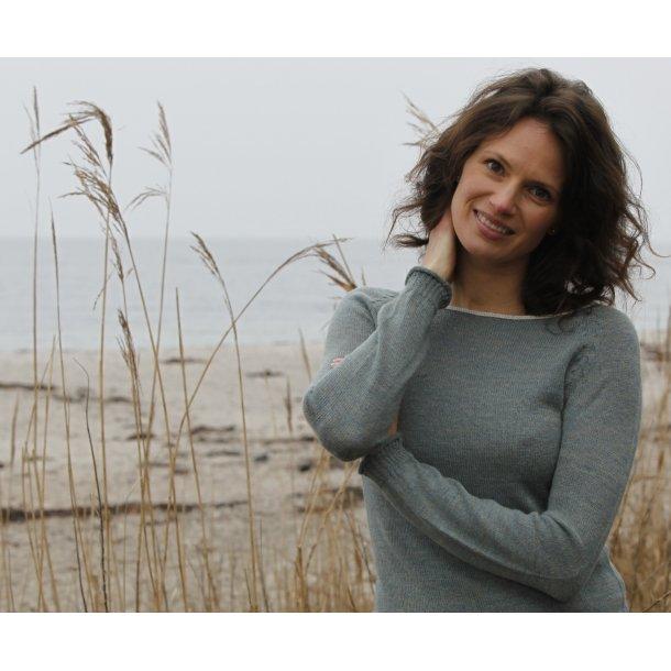 Bluse - Gorridsen, Model Afrodite, Marble Green