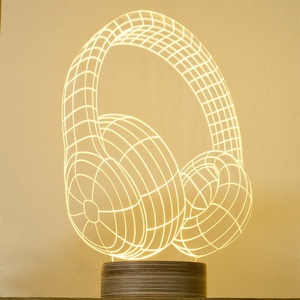 BULBING lampe - Headphones