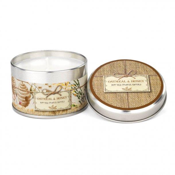 Rejselys med skøn duft - Korn & Honning