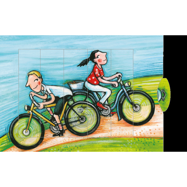 Levende postkort - Cykel