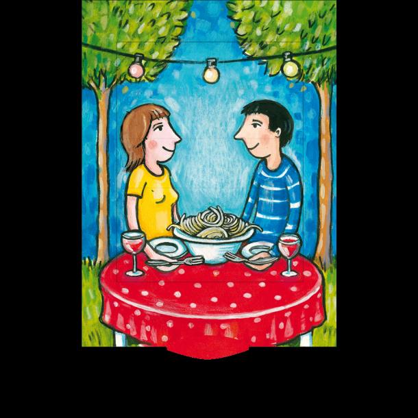 Levende postkort - Pasta
