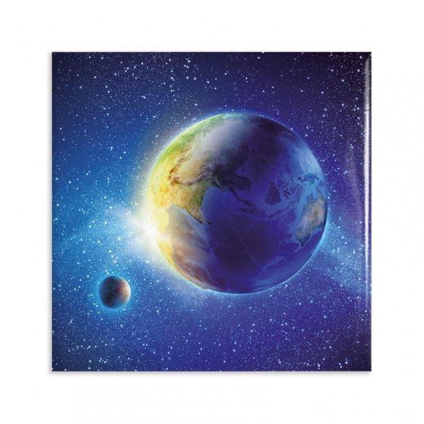 Magnet - Jorden og månen