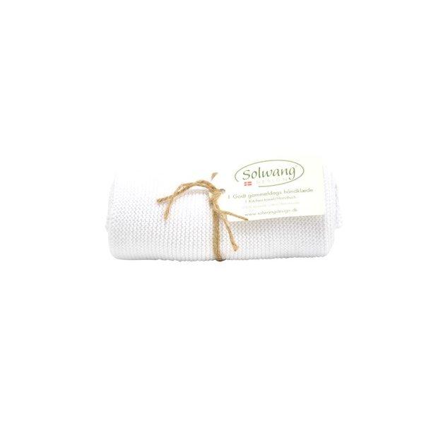Solwang håndklæde - Lys oliven