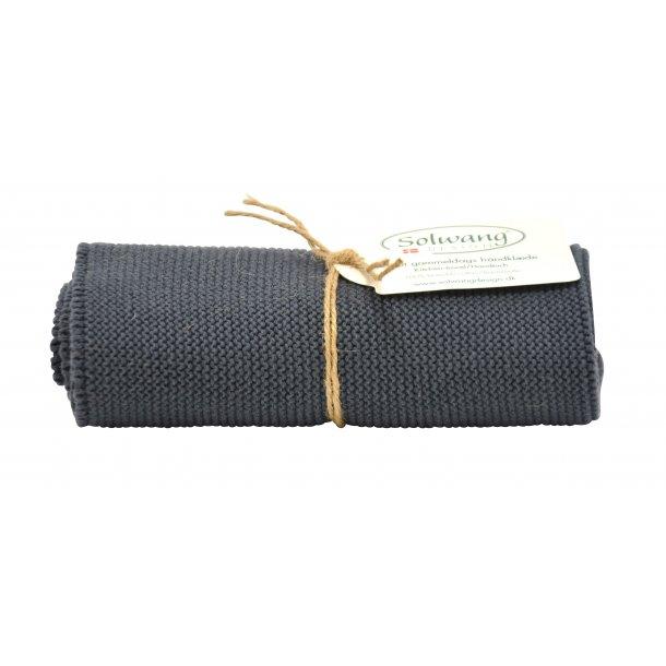 Solwang håndklæde - Mørke grå