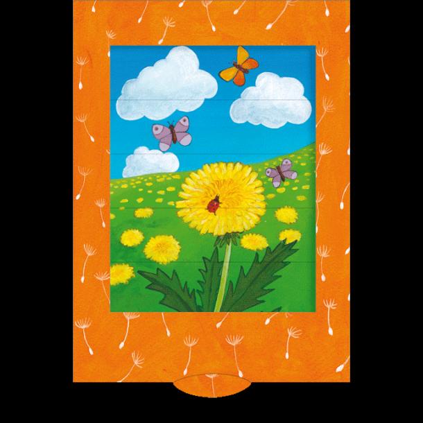 Kort - Træk ud - Blomstereng