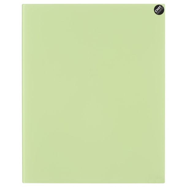 Chat Board - Eksklusiv magnetisk glastavle - Lime Green