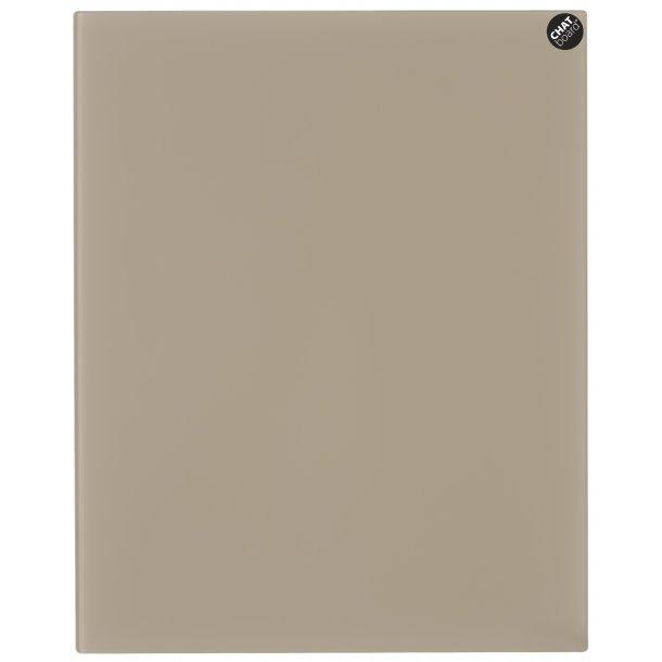 Chat Board - Eksklusiv magnetisk glastavle - Mocca
