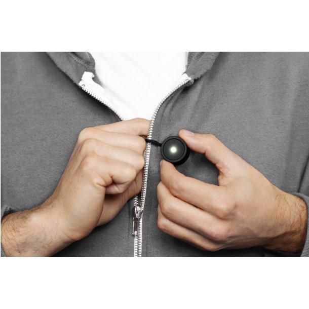 Lucina -Sikkerhedslys til tøjet m/ magnet