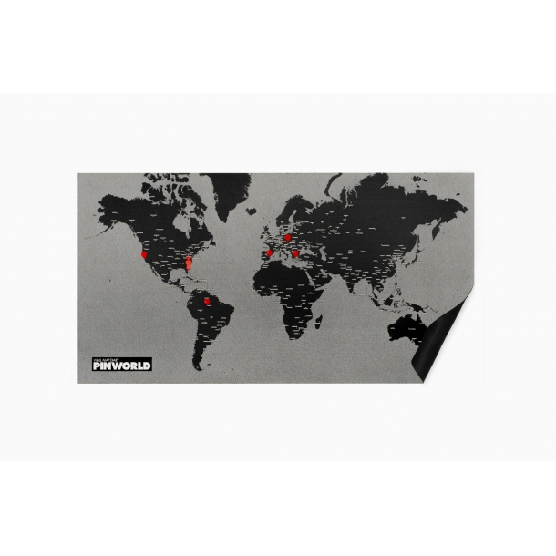 Pinworld - Verdenskort og opslagstavle - Palomar