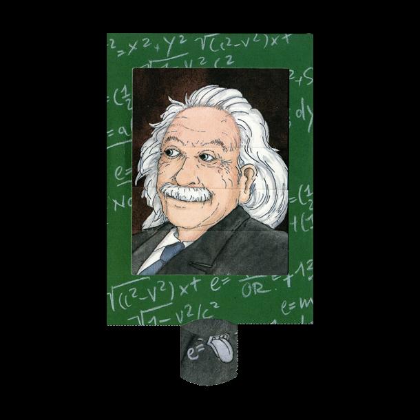 Levende postkort - Einstein