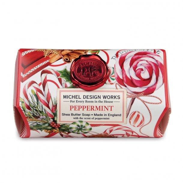 Håndsæbe med aloe - Engelsk luksus - Peppermint