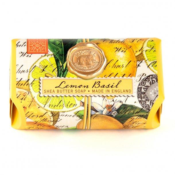 Håndsæbe med aloe - Engelsk luksus - Lemon Basil