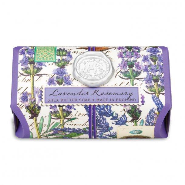 Håndsæbe med aloe - Engelsk luksus - Lavender Rosemary