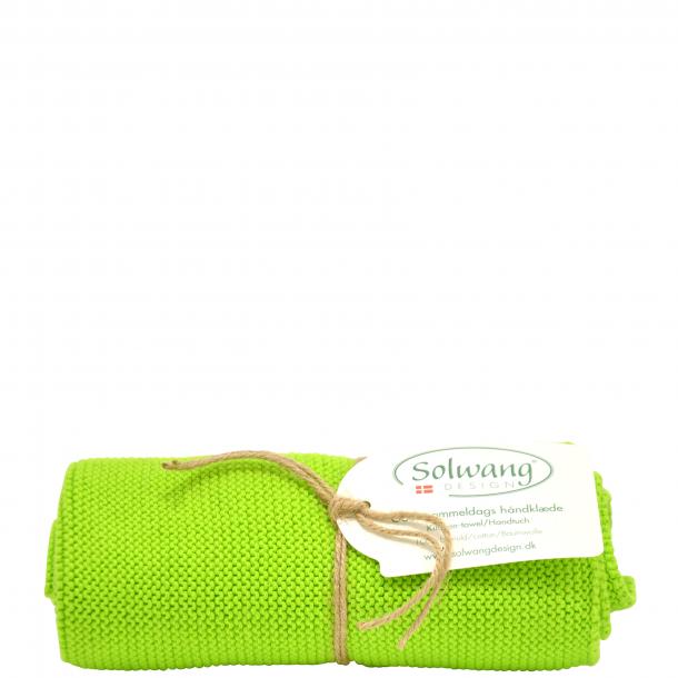 Solwang håndklæde - Lys frisk grøn