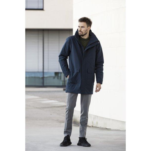 BLÆST Regnfrakke til mænd - Seattle - sort