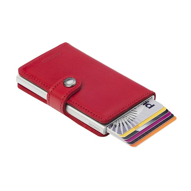 Kortholder - Secrid Mini wallet m. læderomslag