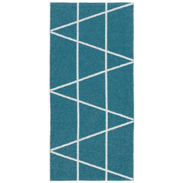 Tæppe fra Horredsmattan - Viggen - Blå