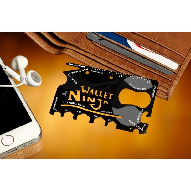 Wallet Ninja - multifunktionelt værktøj