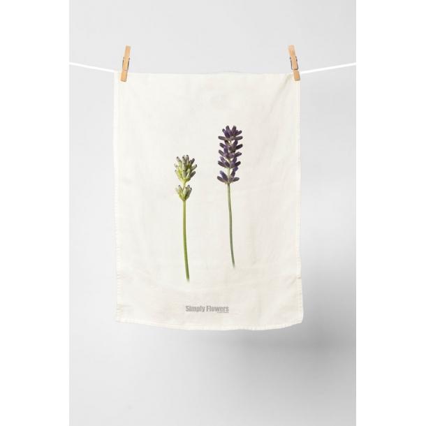 Simply Flowers - Viskestykker i bomuld
