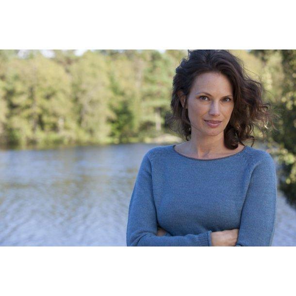 Bluse - Gorridsen, Model Afrodite, Fantasy Blue