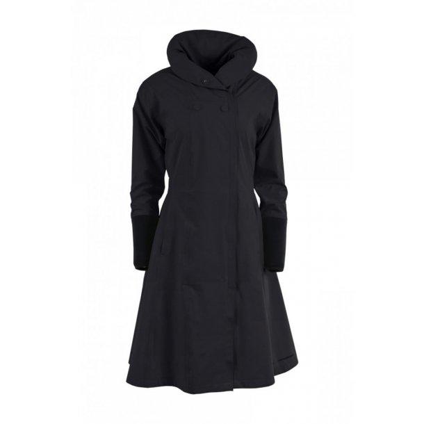 Blæst Regnfrakke - Barcelona Citycoat  - sort