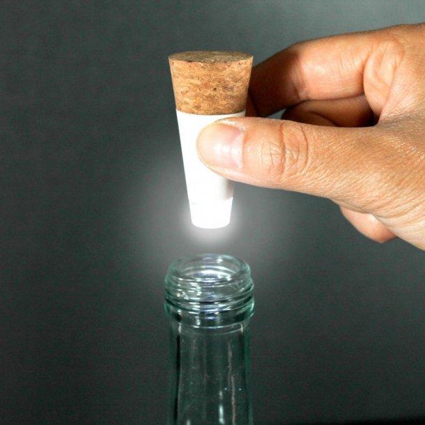 Bottle light - USB opladeligt lys til flasker
