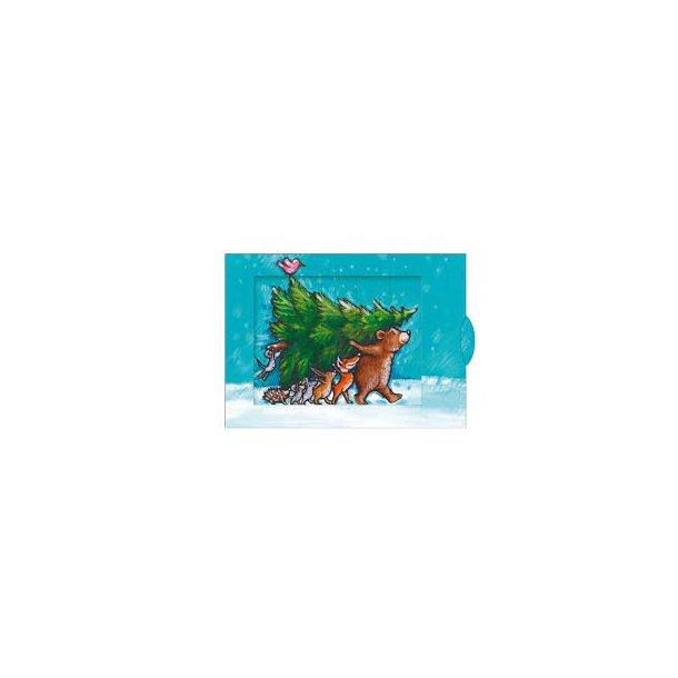 Levende postkort - juletræ