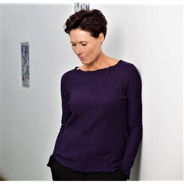 Bluse - Gorridsen, Fortuna - violet