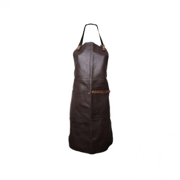 Læder forklæde fra Ørskov - Apron chocolate