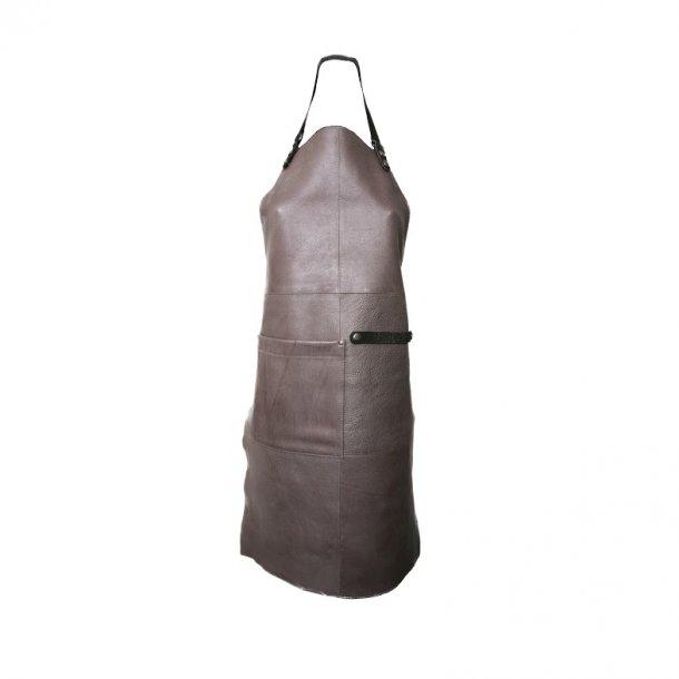 Læder forklæde fra Ørskov - Apron grå