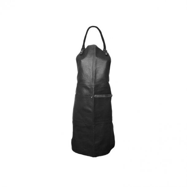 Læder forklæde fra Ørskov - Apron sort