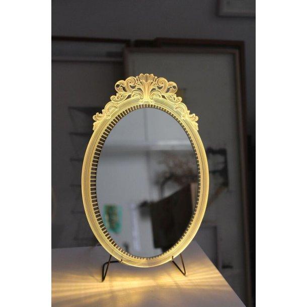 Spejl med lys - Marra Mirror - bordmodel