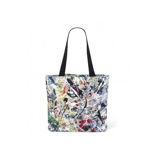 Skulder Net - MoMa Jackson Pollock - White light Tote