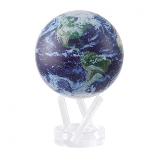 Roterende globus drevet af solceller