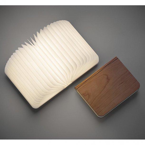 Boglampe - A6-format i valnøddetræ